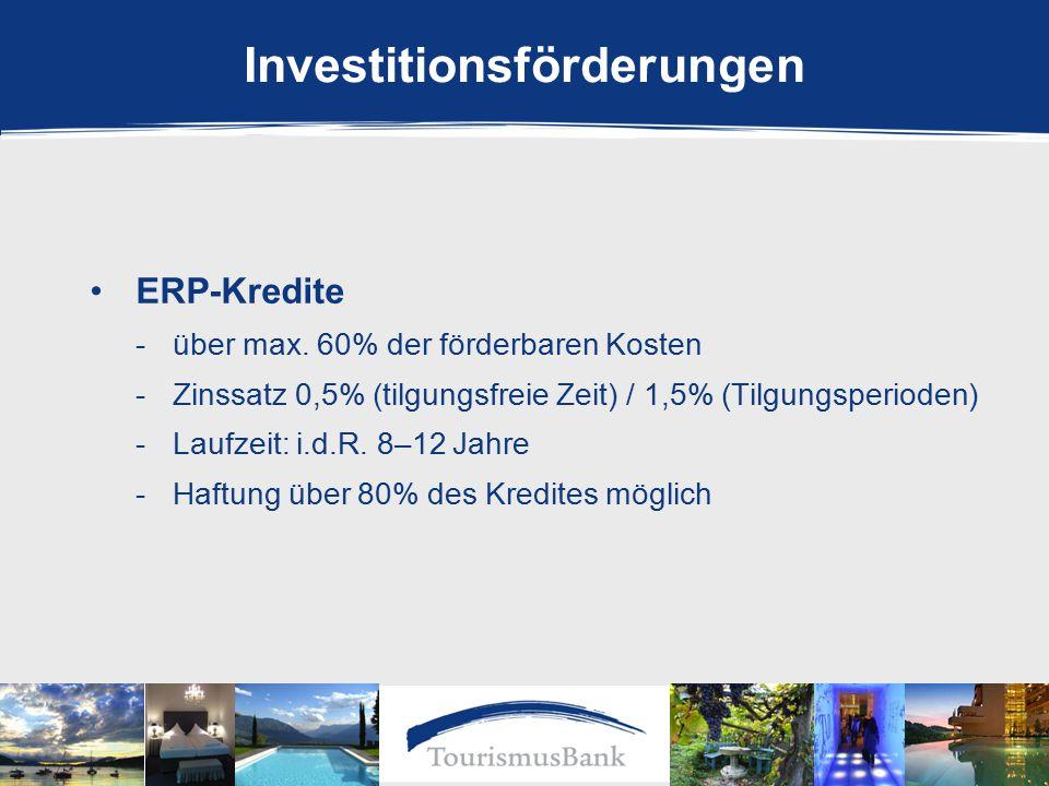 ERP-Kredite -über max.