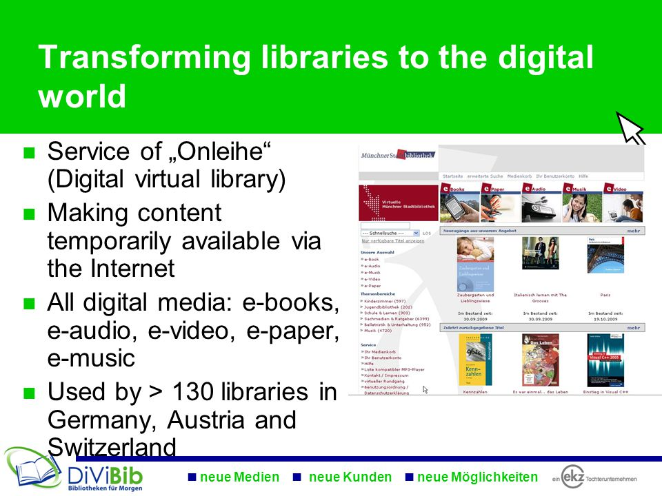 """8 04.04.2015 Libraries: just borrowing printed books All digital media: Sold/borrowed by Amazon """"Remember 2016, when there still was one guy who asked for a CD? Libraries in 2020: Doom"""