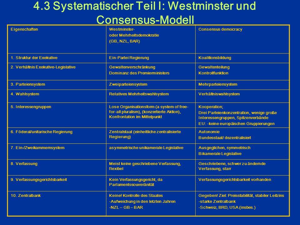 4.2 Beurteilungskriterien für politische Systeme Folgende sechs Beurteillungskriterien haben wir im Brainstorming-Verfahren gemeinsam entwickelt:  St