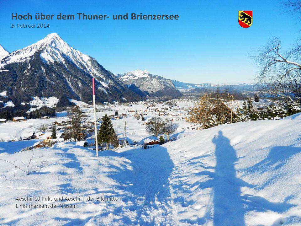 Hoch über dem Thuner- und Brienzersee 6.
