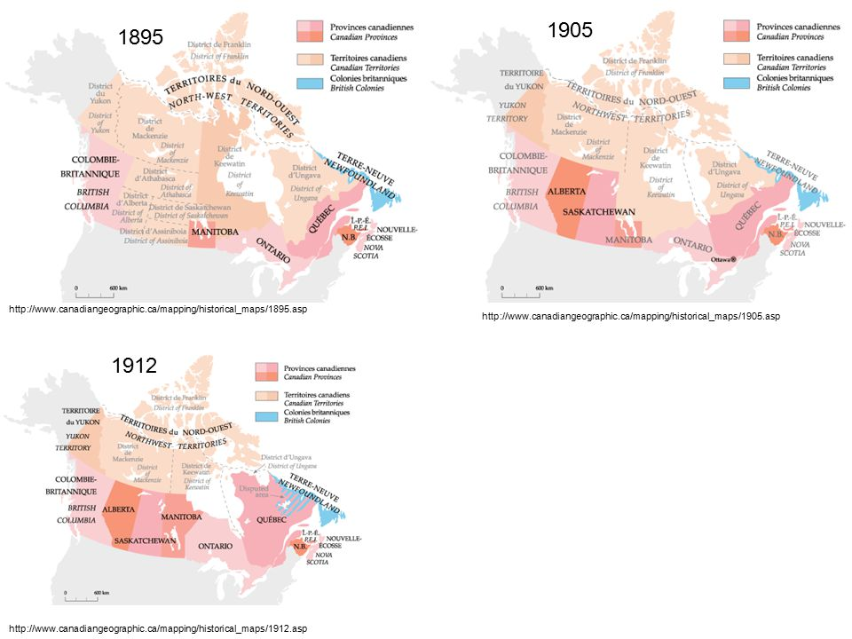 http://www.canadiangeographic.ca/mapping/historical_maps/1895.asp 1895 http://www.canadiangeographic.ca/mapping/historical_maps/1905.asp 1905 http://www.canadiangeographic.ca/mapping/historical_maps/1912.asp 1912