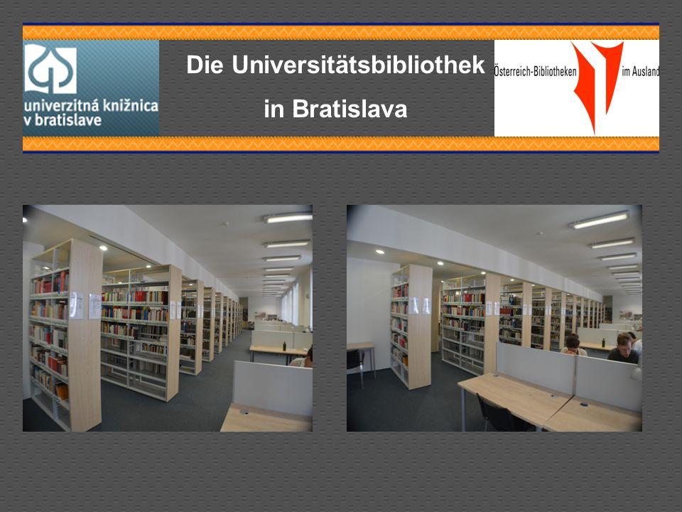 Die Universitätsbibliothek in Bratislava