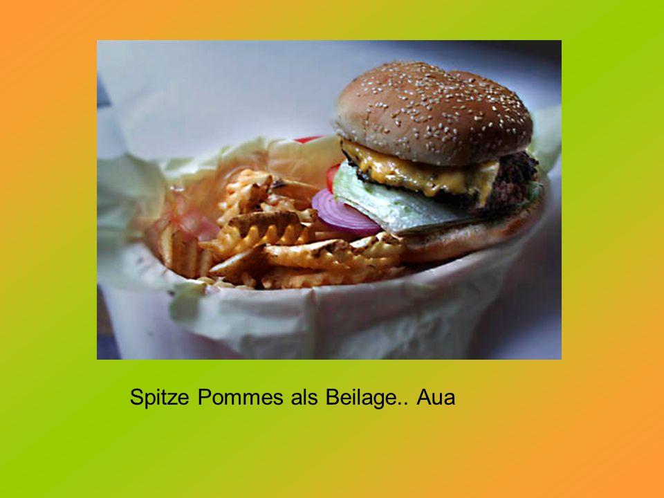 """Lektion 3: Burger mit lustigen Namen verkaufen sich besser.. Hier der """"Mad Cow !"""