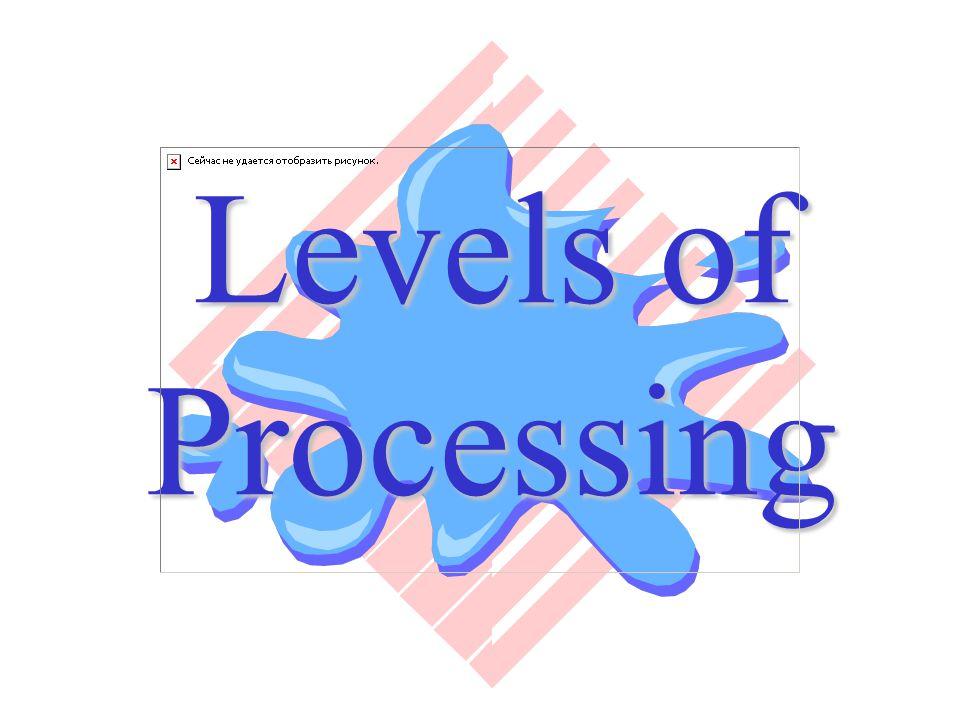 LOP – Theorie am Beispiel Lernen/Aneignen einer Sprache Erfolgt laut Perfetti über 7 Ebenen Ebene 1-3umfaßt die flache Verarbeitung Ebene 4umfaßt die tiefe Verarbeitung Ebene 5-7umfaßt die Eingliederung in den Kontext, d.h.