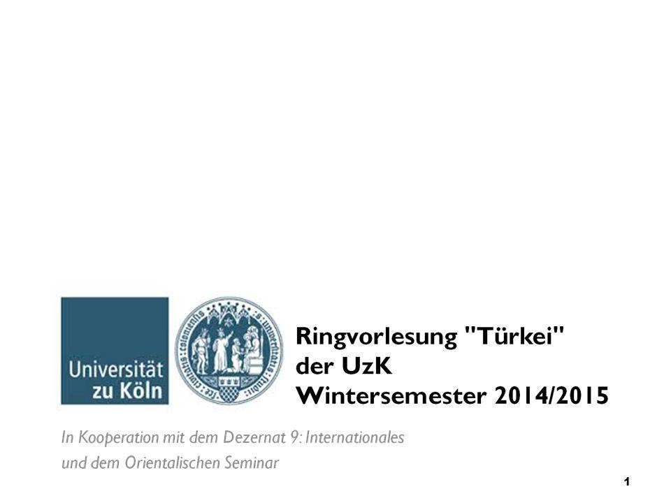 Ringvorlesung der University of Cologne 8.