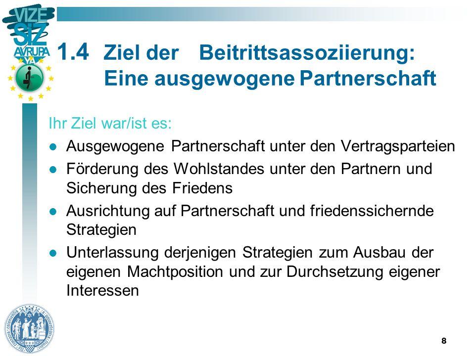 19 3.2Die Ergebnisse der 62 EuGH- Entscheidungen Zwischen Januar 1987 und Januar 2014 hat der EuGH 62 Urteile über das Assoziationsrecht gefällt.