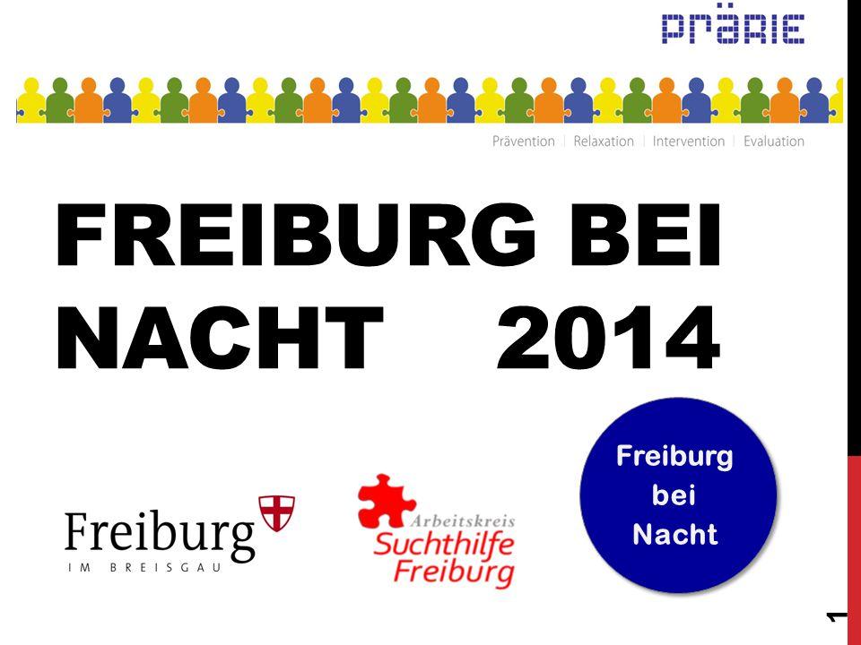 FREIBURG BEI NACHT 2014 1 Freiburg bei Nacht
