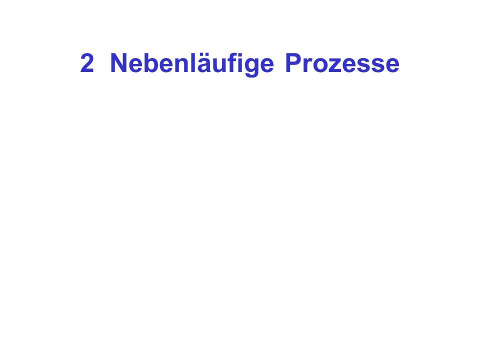 """2.1 Programmstruktur und Prozesse private Prozess = Anweisungen + Daten gemeinsame Aber:Wie verhält sich das Konstrukt """"Prozess zu den üblichen Strukturierungseinheiten wie Prozedur, Modul, Klasse, Objekt,..."""