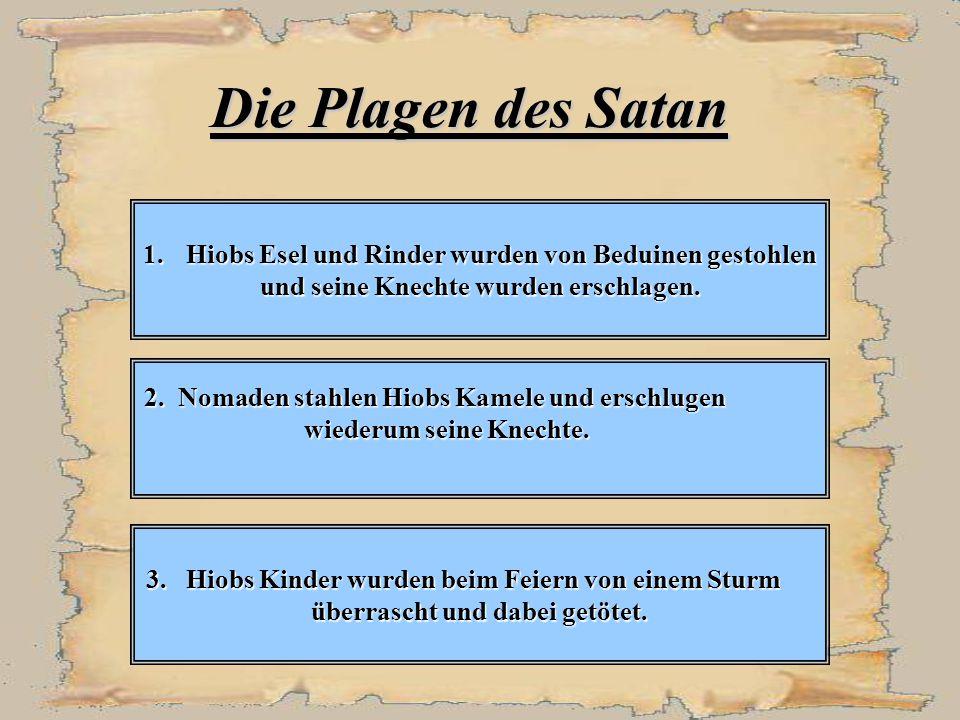 Die Plagen des Satan 1.
