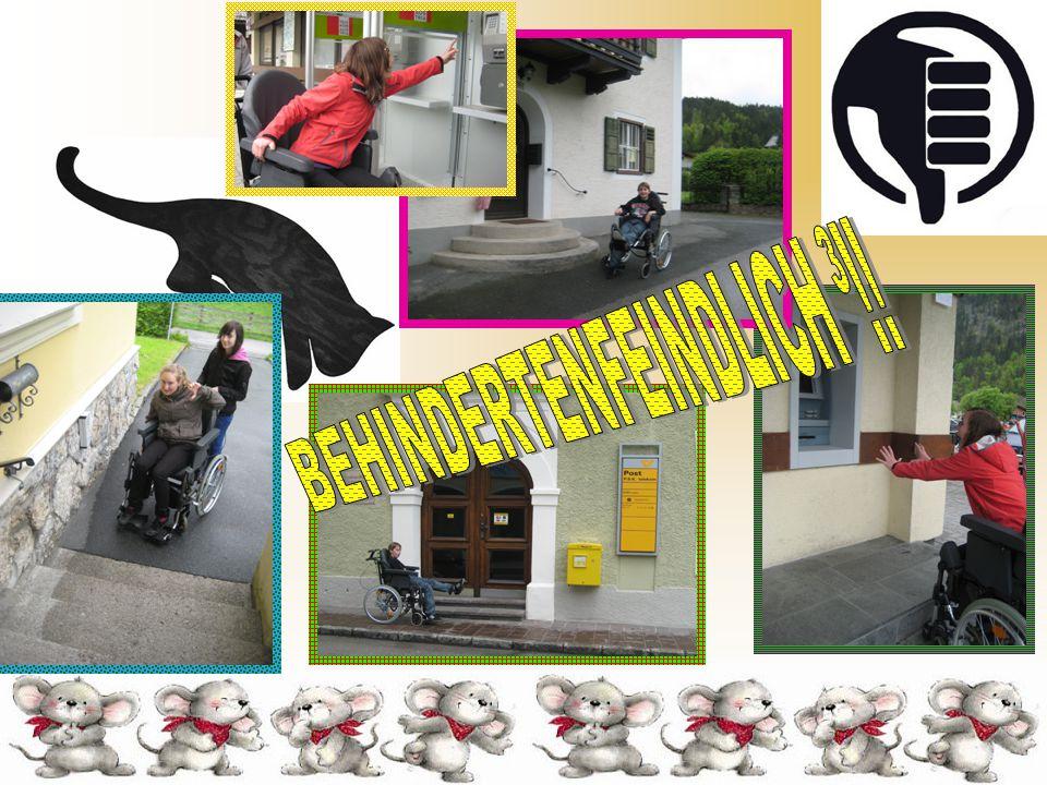 Fazit: Lofer ist ein sehr behindertenfreundlicher Ort und Menschen im Rollstuhl können sich fast problemlos dort aufhalten.