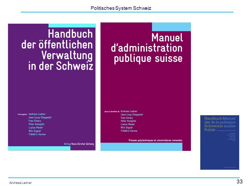 33 Politisches System Schweiz Andreas Ladner