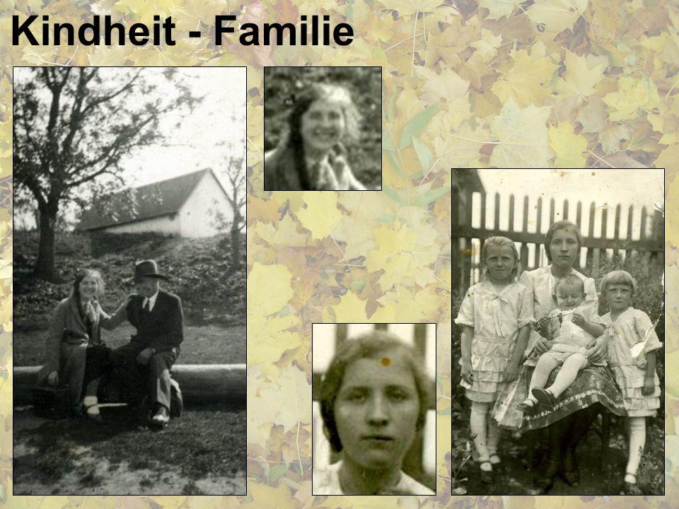 Kindheit - Familie