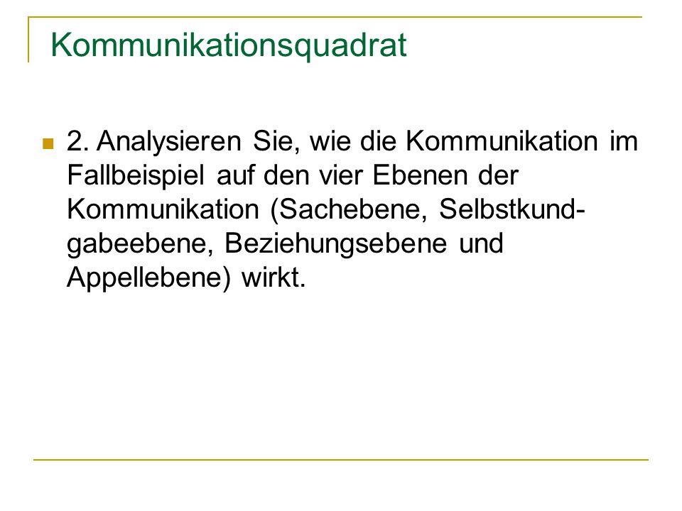 Mitarbeitergespräch - Fakten KMBek vom 4.
