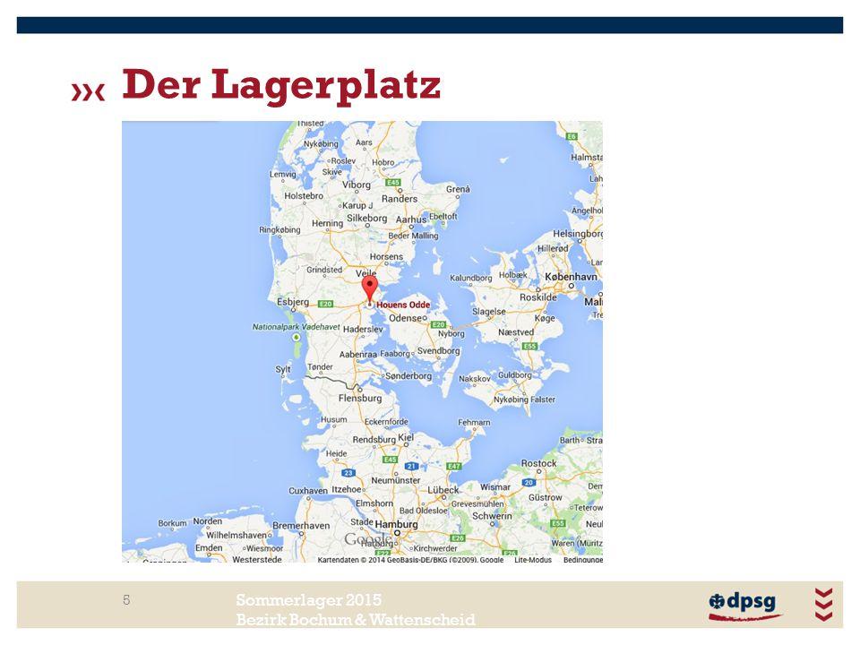 Sommerlager 2015 Bezirk Bochum & Wattenscheid Der Lagerplatz 5