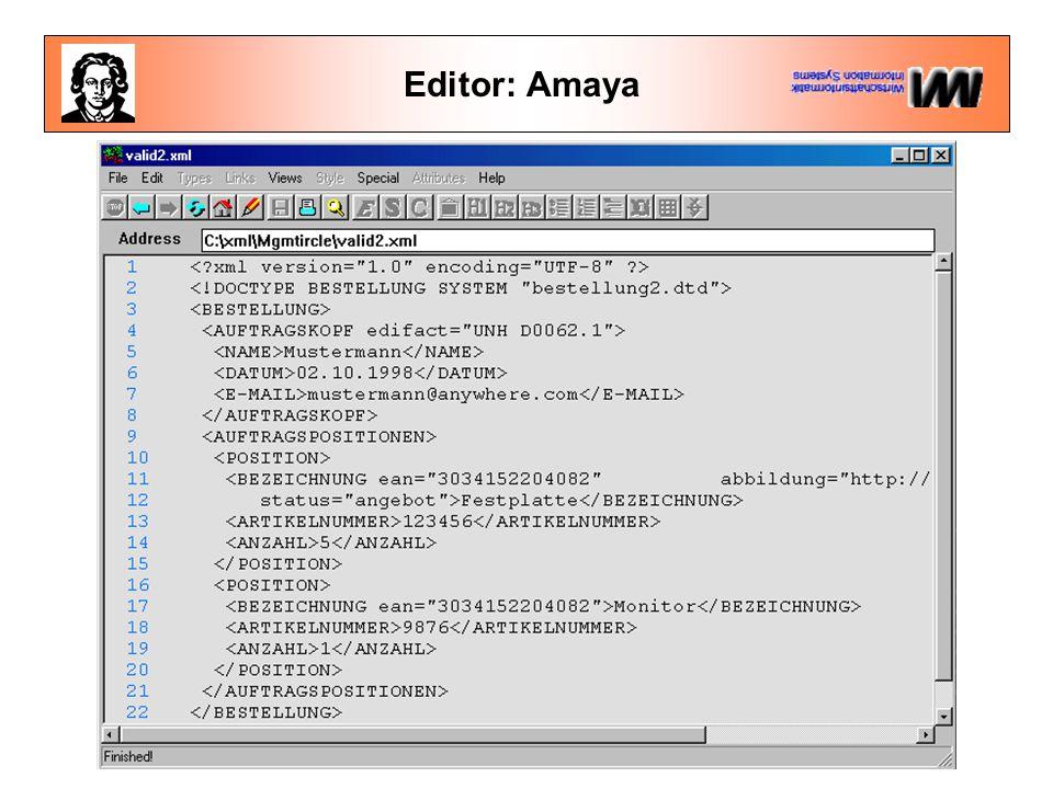 Editor: Amaya