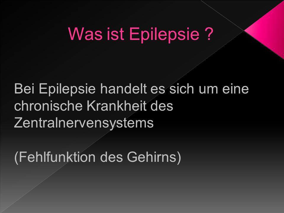 Was ist Epilepsie .