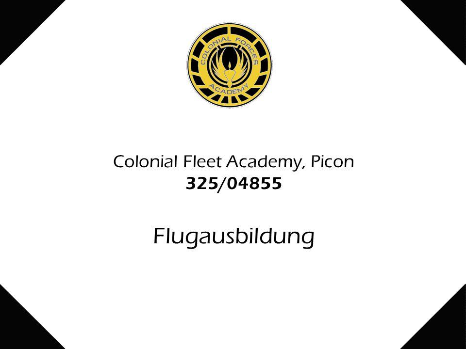 Colonial Fleet Academy, Picon 325/04855 Flugausbildung