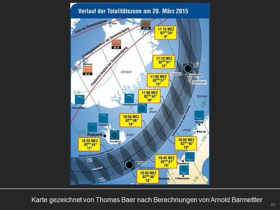 20 Karte gezeichnet von Thomas Baer nach Berechnungen von Arnold Barmettler