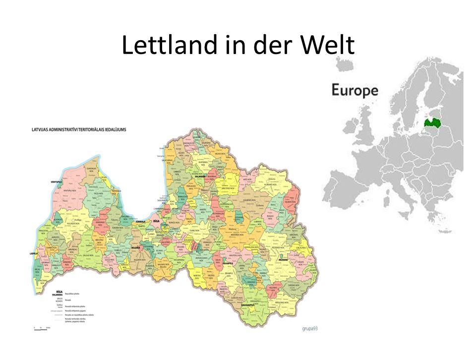 Lettland in der Welt