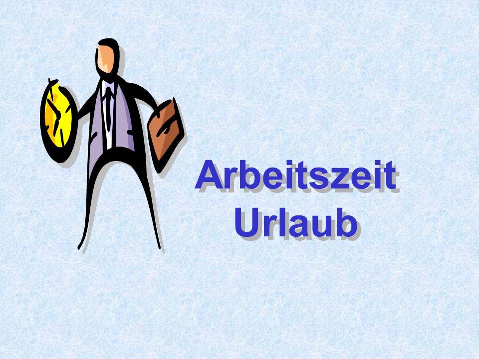 Arbeitsrecht 6 Regelungen zur Arbeitszeit finden sind in Regelungen zur Arbeitszeit finden sind in Gesetzen: Arbeitszeitgesetz (AZG) Arbeitsruhegesetz (ARG) Kollektivverträgen Betriebsvereinbarungen Einzelarbeitsverträgen