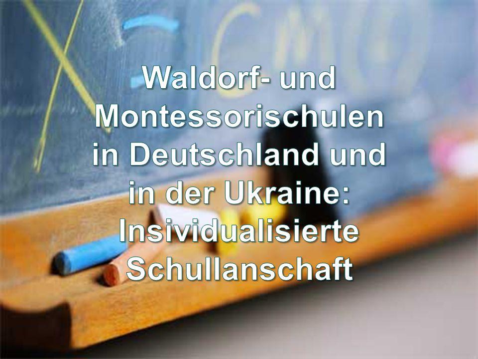 Plan: Einleitung.Die Geschichte der Entstehung der Montessori- und Waldorfschulen.
