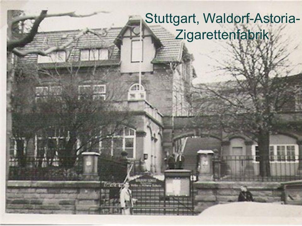Stuttgart, Waldorf-Astoria- Zigarettenfabrik