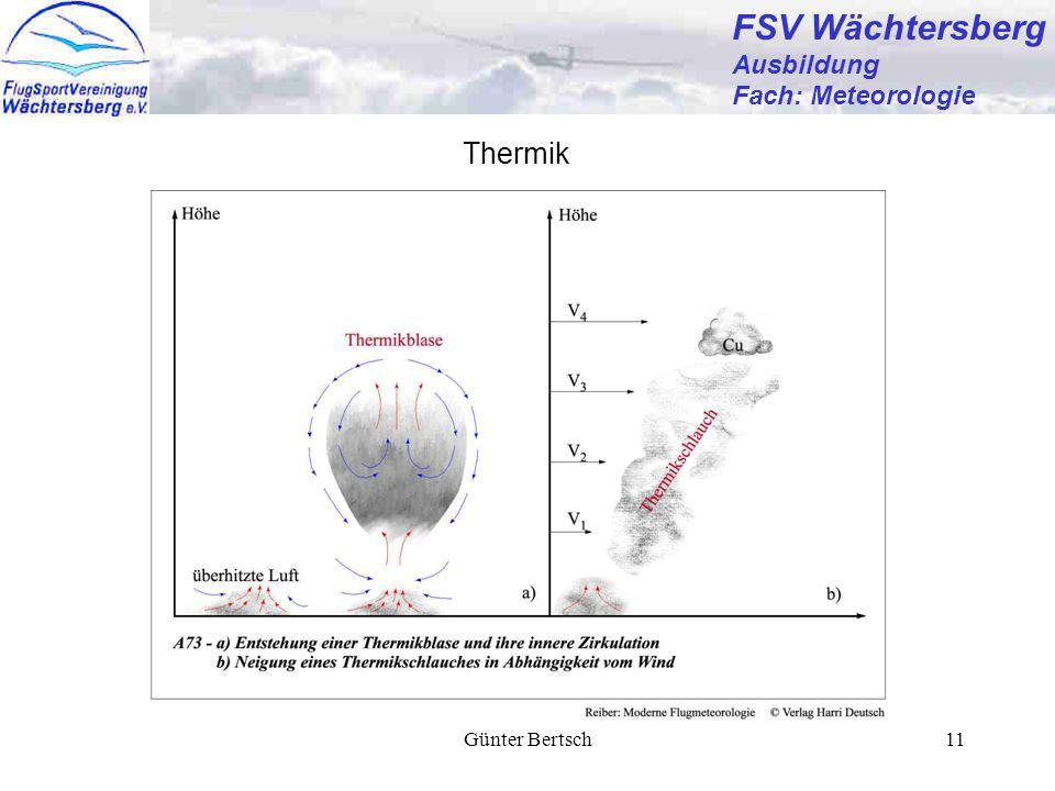 Günter Bertsch11 FSV Wächtersberg Ausbildung Fach: Meteorologie Thermik