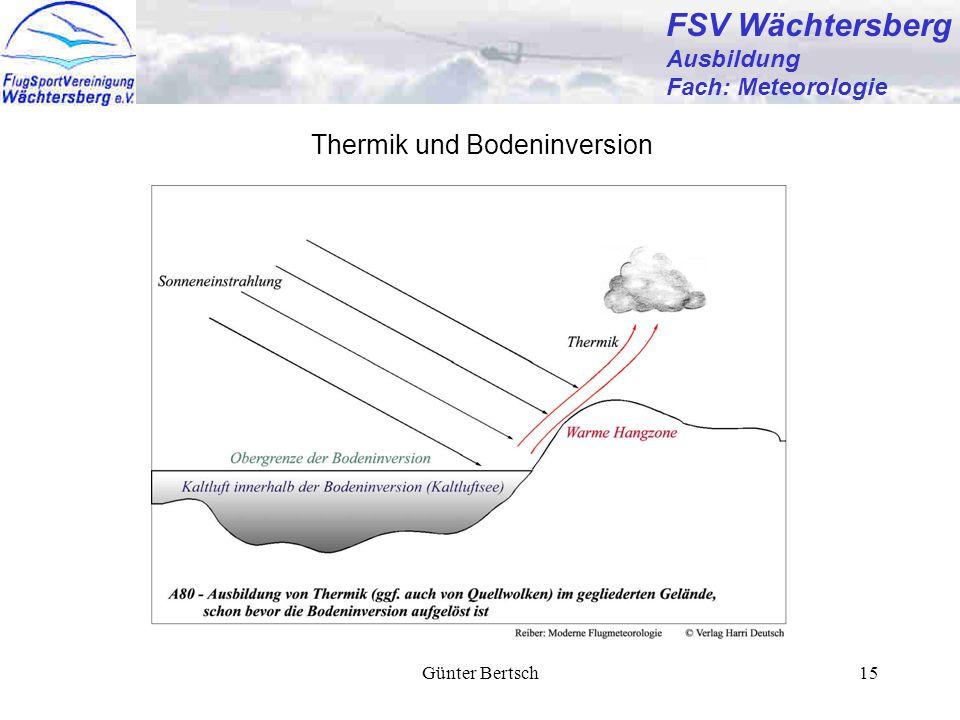 Günter Bertsch15 FSV Wächtersberg Ausbildung Fach: Meteorologie Thermik und Bodeninversion