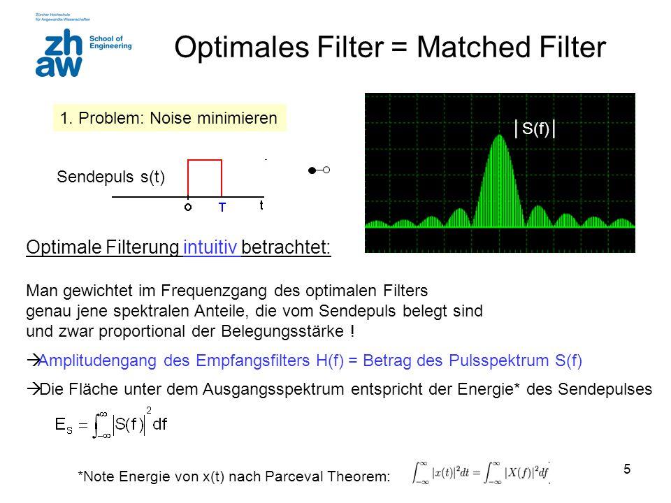 36 Beispiel: Best Case BER and orthogonal Linkbudget: EIRP = 0 dBm, G r = 3dB Path Loss 110 dB NF = 8 dB N 0 = -174 dBm/Hz + NF Bitrate R = 200 kBit/s Polar Impuls P r = -107 dBm B eq = 100 kHz N = -116 dBm  S/N = 9 dB 2E s /N 0 = 9 dB, E s /N 0 = E b /N 0 = 6 dB Curve Polar BER = 3·10 -3