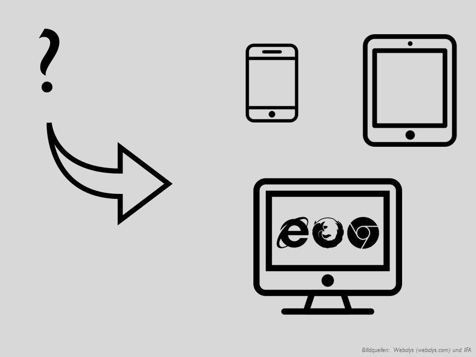 Billdquellen: Webalys (webalys.com) und IFA ?