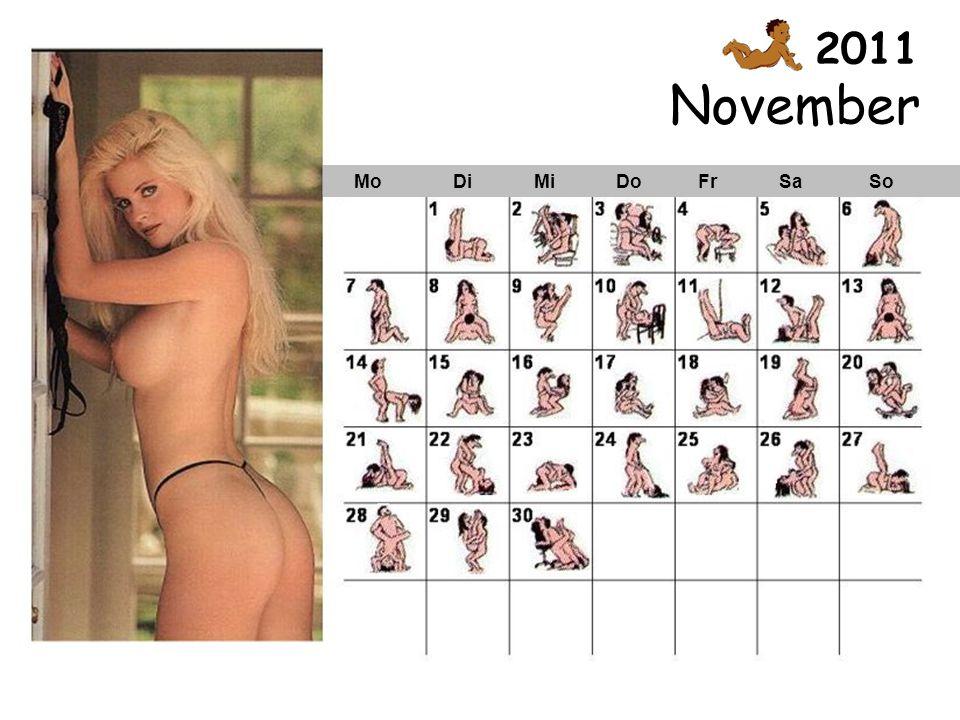 November Mo Di Mi Do Fr Sa So 2011