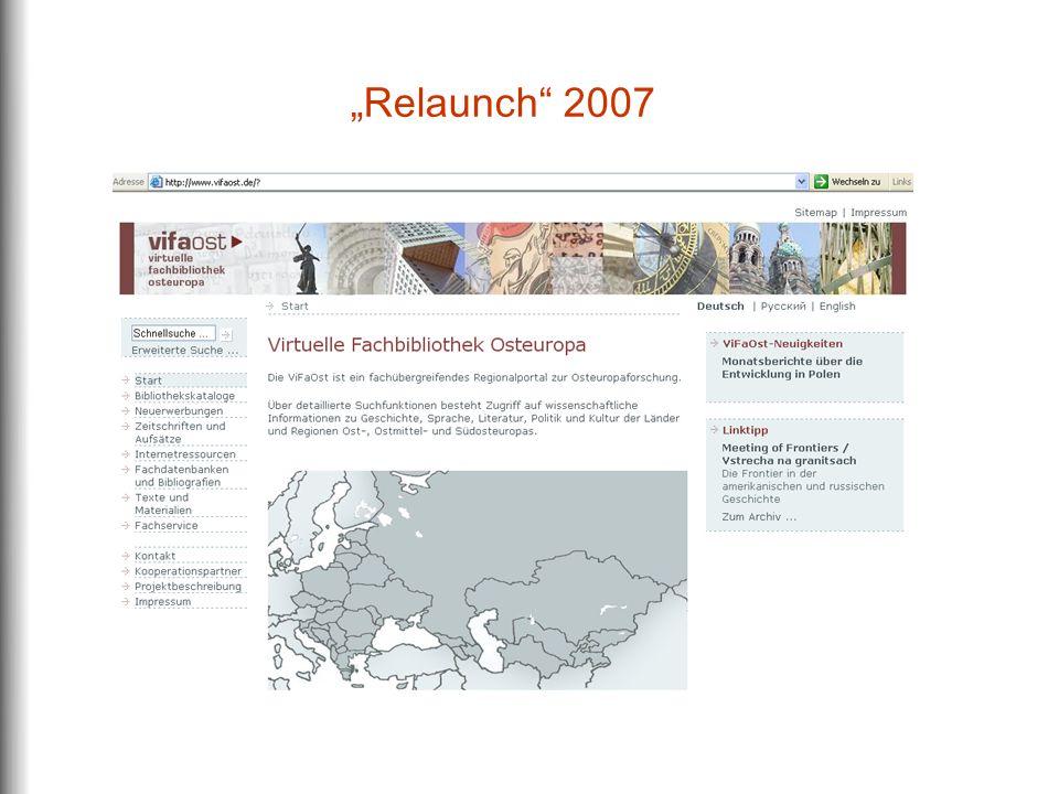 """""""Relaunch 2007"""