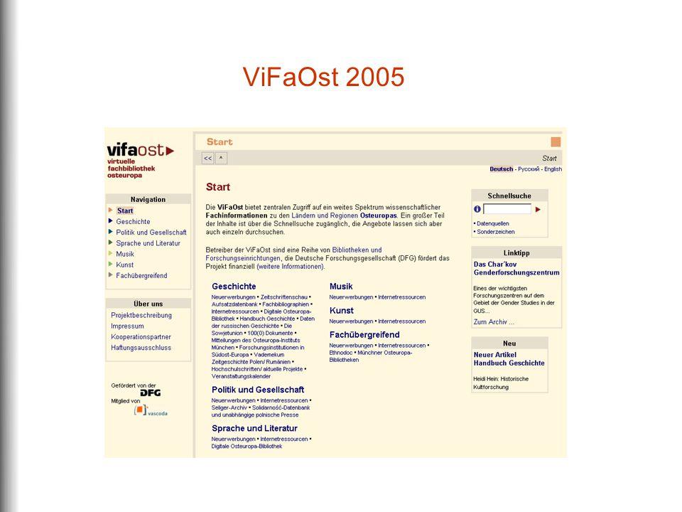 ViFaOst 2005