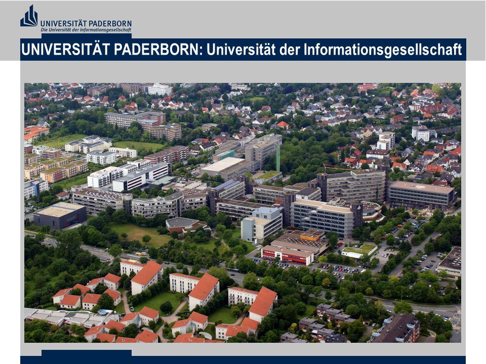 UNIVERSITÄT PADERBORN: Universität der Informationsgesellschaft