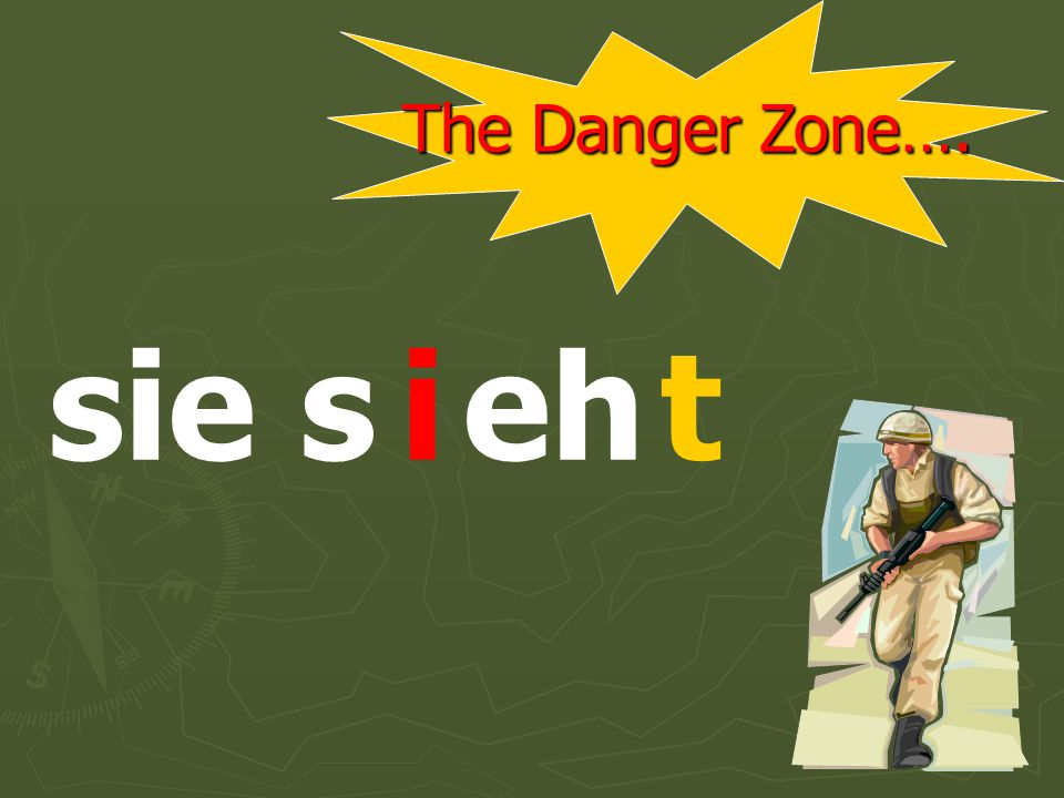 The Danger Zone…. er s ehti
