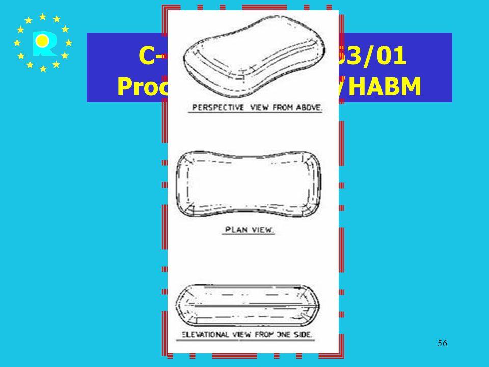 Tagung der EuGH-Richter 200556 C-107/03 P - T-63/01 Procter & Gamble/HABM