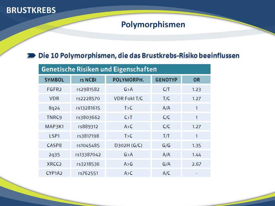 BRUSTKREBS Der Nutzen einer Genanalyse 1) Vorsorge 2) Früherkennung 3) Bessere Behandlung