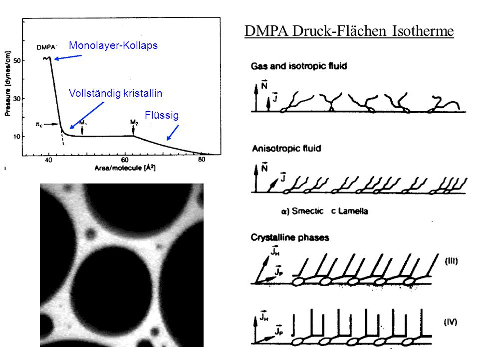 Kapillarität nicht benetzende Flüssigkeit: Kapillardepression Steighöhe h zwischen 2 planparallelen Platten im Abstand d:  Gaub49WS 2014/15