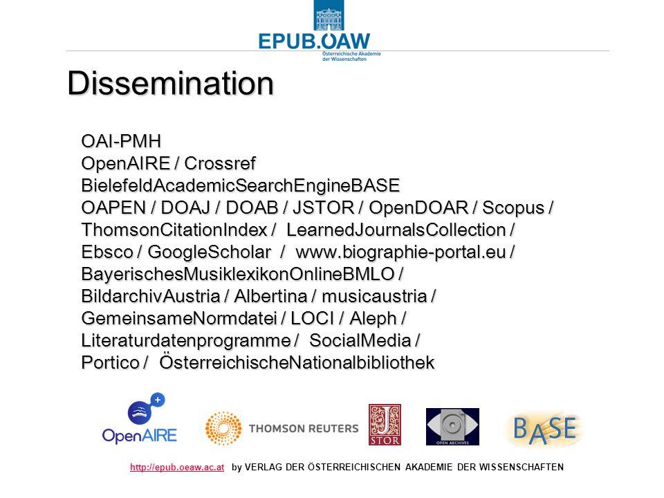 http://epub.oeaw.ac.athttp://epub.oeaw.ac.at by VERLAG DER ÖSTERREICHISCHEN AKADEMIE DER WISSENSCHAFTEN OAI-PMH OpenAIRE / Crossref BielefeldAcademicS