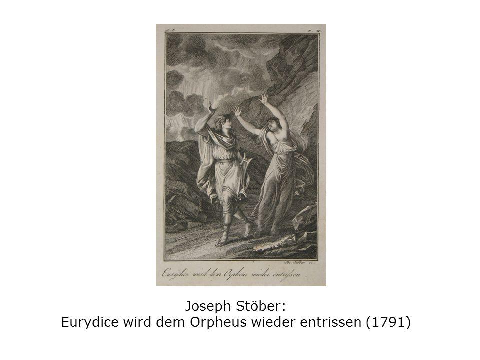 Joseph Stöber: Eurydice wird dem Orpheus wieder entrissen (1791)