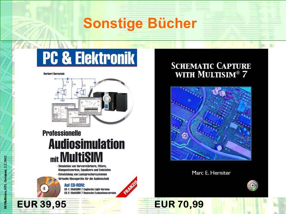 NI Multisim, HTL-Seminar, 2.2.2012 EUR 39,95EUR 70,99 Sonstige Bücher