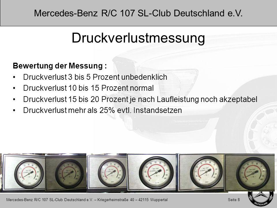 Mercedes-Benz R/C 107 SL-Club Deutschland e.V.