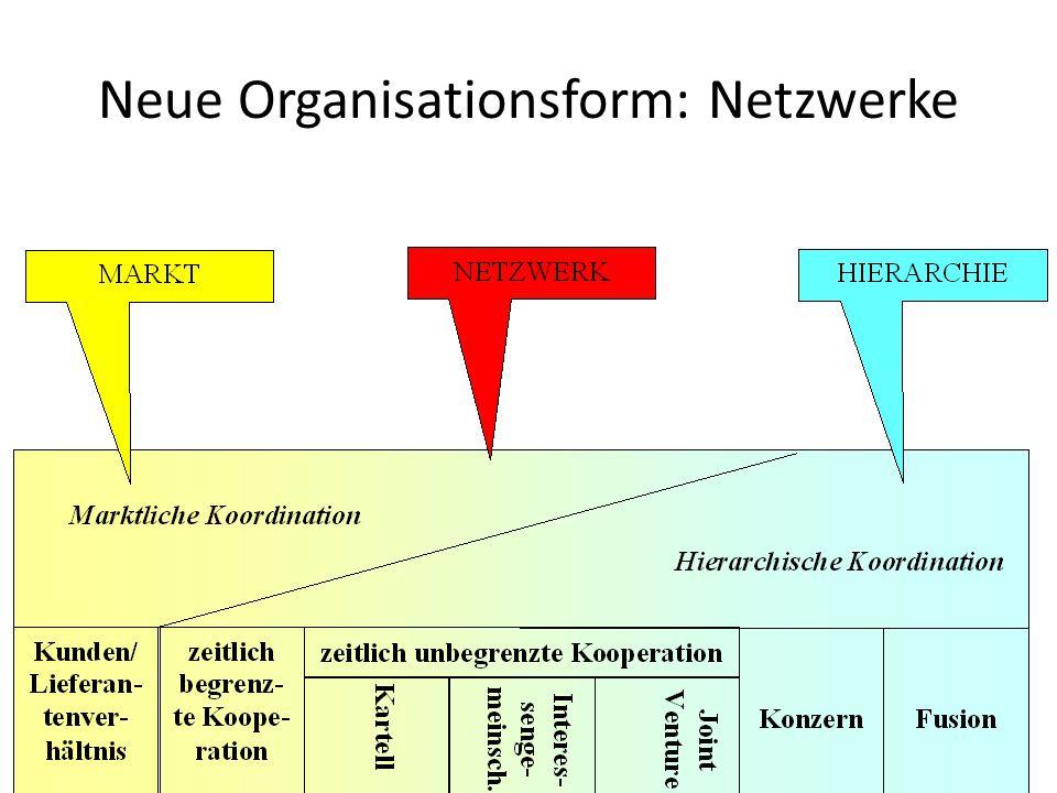 Neue Organisationsform: Netzwerke 17