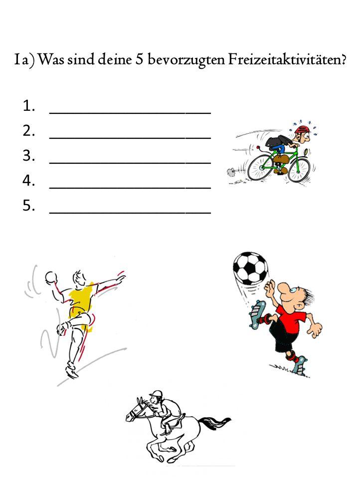7b) Wählt bitte drei eurer 5 Fahrgeschäfte aus.Begründet kurz, warum sie euch gefallen.