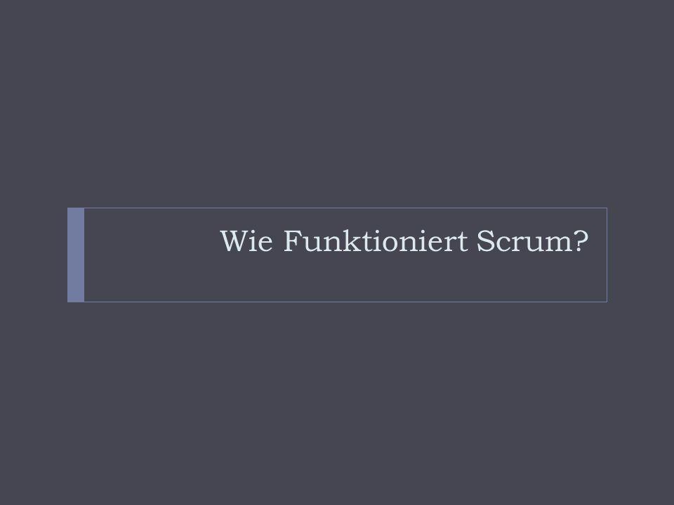 Wie Funktioniert Scrum?