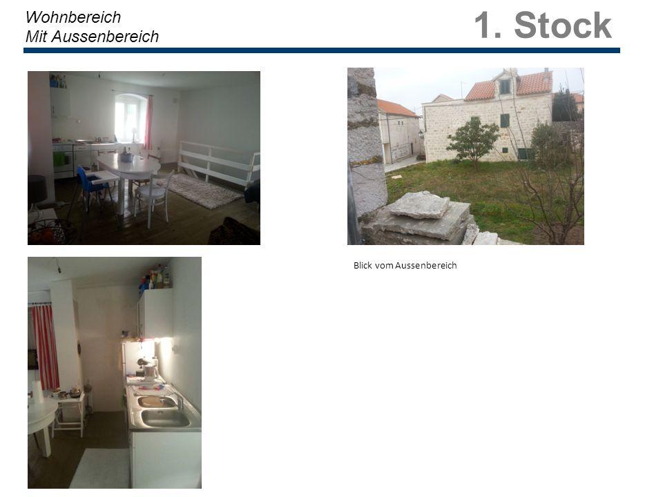 1. Stock Wohnbereich Mit Aussenbereich Blick vom Aussenbereich