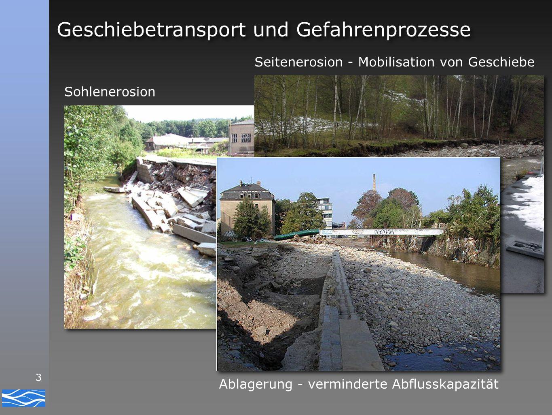 4 Kies im Fluss... ‣ was, wo, wie? ‣ ein Sanierungsfall? ‣ ja, wir können