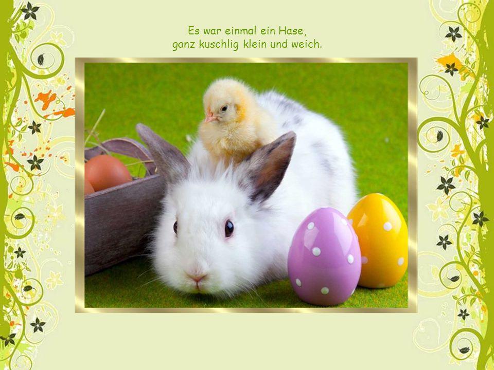 Und wenn du hältst ein buntes Ei ganz nah vor deiner Nase, dann siehst du, dass ganz klein dort steht:
