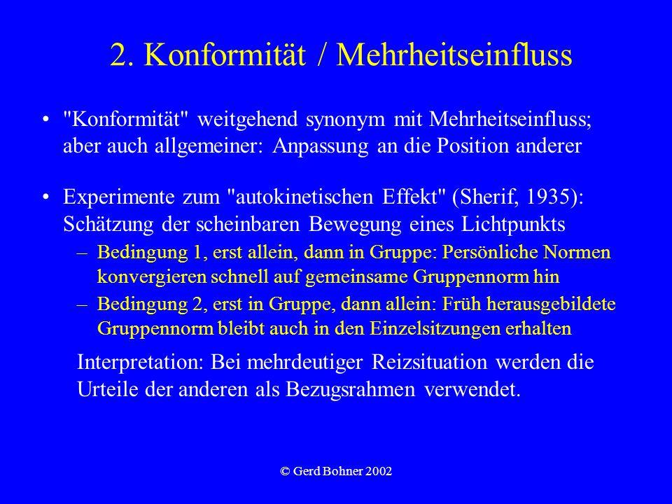© Gerd Bohner 2002 2.