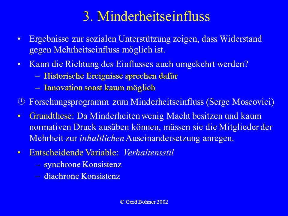 © Gerd Bohner 2002 3.